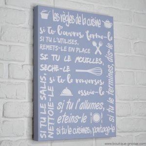 gnooss-boutique-Mome by Printline-Tableau-Regles cuisine-bleu-2-GN_119944536_new