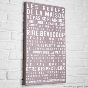 gnooss-boutique-Mome by Printline-Tableau-Regles maison-taupe-2-GN_798134531_new