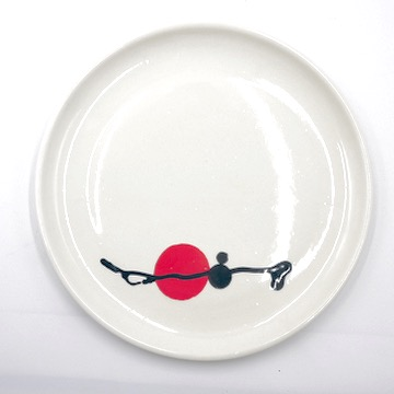 boutique gnooss ceramiste nathalie wetzel assiette porcelaine