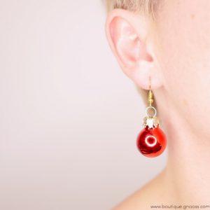 gnooss-boutique-les laisses pour coudre-boucles oreilles-mini boules de noel-rouge3-GN_889513341_new