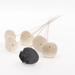 Nathalie-Wetzel-Bouquet-fleurs-porcelaine-Noir-1