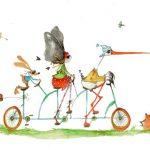 Boutique Gnooss Décoration Alsace Créateurs aquarelles Krolgribouille cartes postales alsace