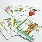 Boutique Gnooss Décoration Alsace Créateurs aquarelles Krolgribouille cartes postalese