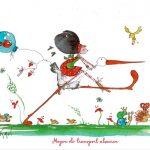 Boutique Gnooss Décoration Alsace Créateurs aquarelles Krolgribouille carte postale
