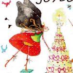Boutique Gnooss Décoration Alsace Créateurs aquarelles Krolgribouille carte anniversaire