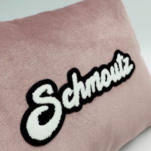 gnooss-boutique-Marie Froehlicher- coussin velours rose-Schmoutz-3