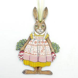 gnooss-boutique-collections et compagnie-suspension-paques-lapine-radis